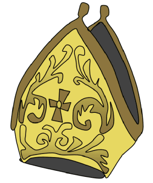 Pope Hat Template