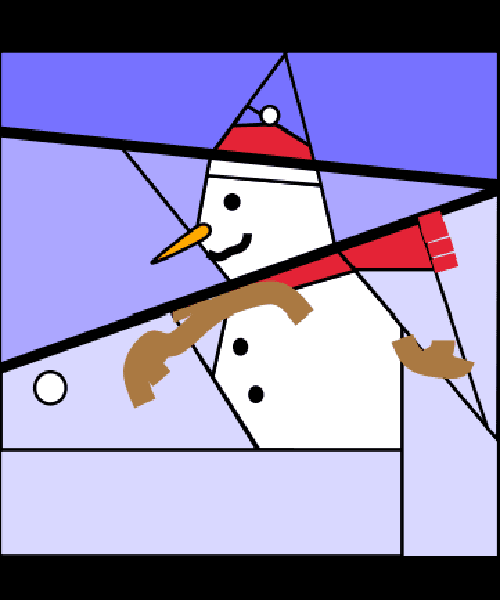 Snowman Throwing A Snowball Fourtwinsisters